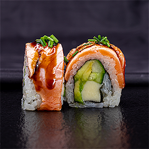 Foto Cheese Salmon Roll